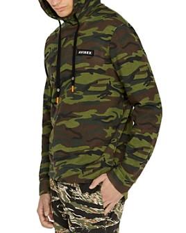 Avirex - Camo Hooded Sweatshirt