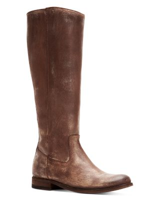 Melissa Button Leather Boots