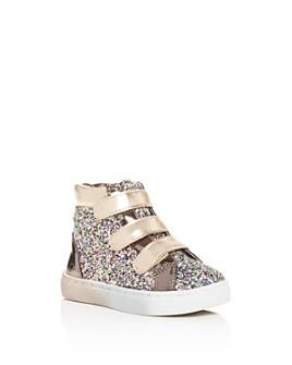 STEVE MADDEN - Girls' TZoom Glitter Mid-Top Sneakers - Toddler