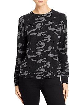 Monrow - Camo Wool & Cashmere Sweater