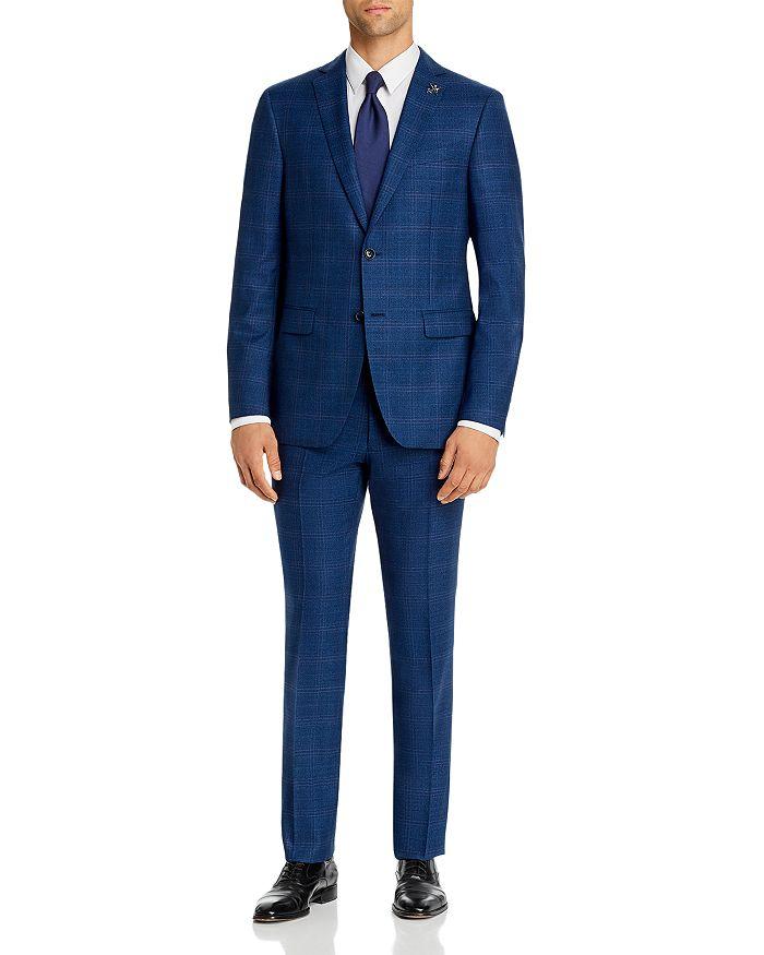 John Varvatos Star USA - Bleecker Street Tonal Plaid Slim Fit Suit Separates