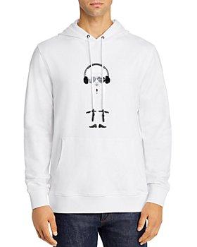 KARL LAGERFELD PARIS - Big Karl Hooded Sweatshirt