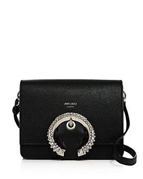Jimmy Choo - Madeline Medium Crystal-Embellished Shoulder Bag