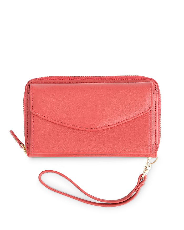 ROYCE New York - Leather Wristlet Wallet