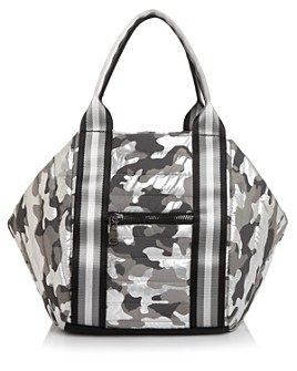 Think Royln - Metallic Camo Bowling Bag