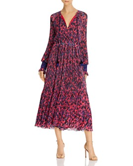 Derek Lam 10 Crosby - Nemea Pleated Midi Dress