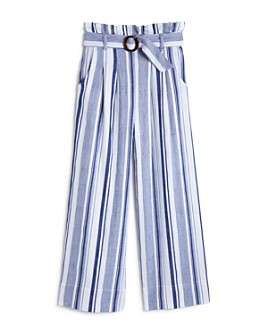 Habitual Kids - Girls' Jaydn Striped Paperbag-Waist Pants - Big Kid