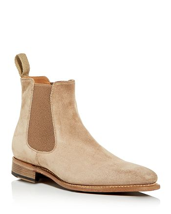 John Varvatos Collection - Men's Amsterdam Suede Chelsea Boots