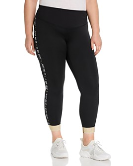 Nike Plus - Logo-Tape Ankle Leggings