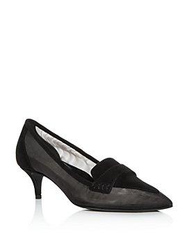 MARION PARKE - Women's Robin Pointed-Toe Kitten-Heel Pumps