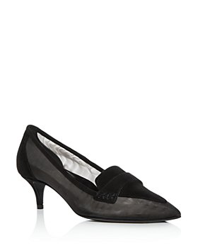 MARION PARKE - Women's Robin Pointed-Toe Kitten-Heel Pumps
