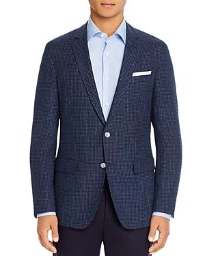 Boss Hartlay Grid Check Slim Fit Sport Coat