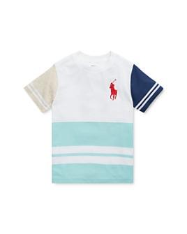 Ralph Lauren - Boys' Color-Block Graphic Tee - Little Kid