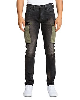 PRPS - Kingsburg Cargo Skinny Fit Jeans in Black