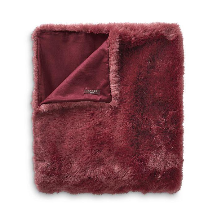 Yves Delorme - Beluga Faux Fur Throw