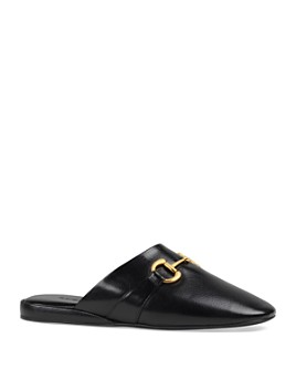 Gucci - Women's Leather Slides