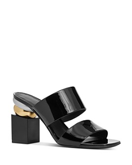 Salvatore Ferragamo - Women's Lotten Patent Leather High-Heel Sandals