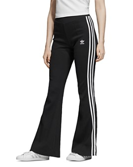 adidas Originals - Flared Rib-Knit Track Pants