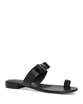 Salvatore Ferragamo - Women's Louisa Leather Sandals