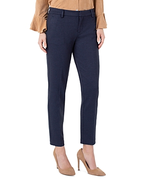 Liverpool Los Angeles Kelsey Heathered Dot Knit Pants-Women