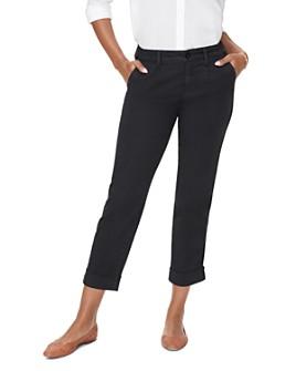 NYDJ - Side-Stripe Cropped Chino Pants