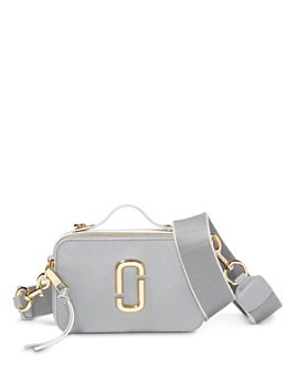 MARC JACOBS - Snapshot Large Leather Crossbody