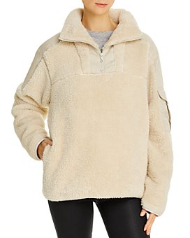 rag & bone - Logan Sherpa Sweatshirt