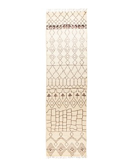 "Bloomingdale's - Moroccan 189192 Runner Rug, 3'4"" x 11'10"" - 100% Exclusive"