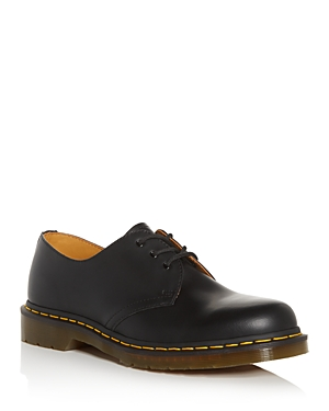 Dr. Martens Men's 1461 Smooth Leather Oxfords In Black Smooth