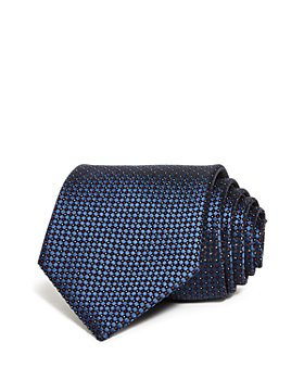 Armani - Mini Diamond Dot Neat Silk Classic Tie