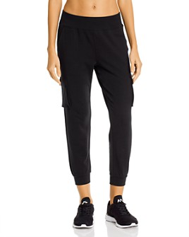 Alo Yoga - Cropped Cargo Sweatpants