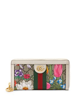 Gucci - Ophidia GG Flora Zip Wallet