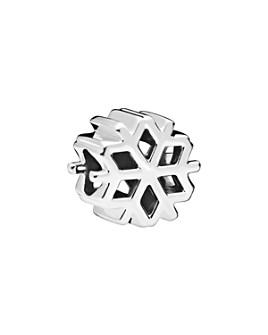 Pandora - Sterling Silver Polished Snowflake Charm