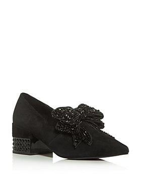 Jeffrey Campbell - Women's Valensia Embellished Block-Heel Pumps