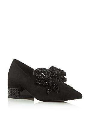 Jeffrey Campbell Women\\\'s Valensia Embellished Block-Heel Pumps