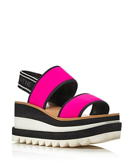 Stella McCartney - Women's Platform Slingback Sandals