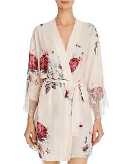 Flora Nikrooz - Delphine Printed Kimono Robe