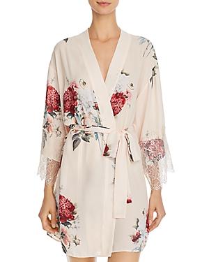 Flora Nikrooz Delphine Printed Kimono Robe