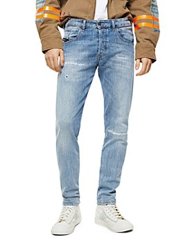 Diesel - D-Bazer Slim Straight Jeans in Denim