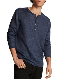 John Varvatos Collection - Long-Sleeve Henley