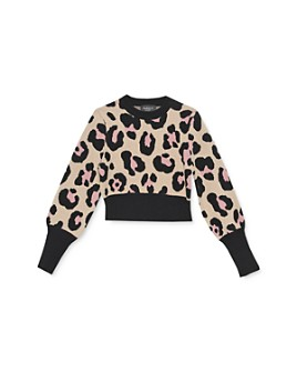 Bardot Junior - Girls' Leopard-Pattern Sweater - Baby