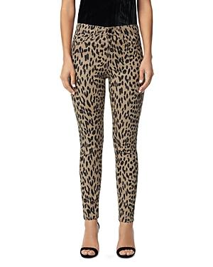 Joe\\\'s Jeans The Charlie Ankle Skinny Jeans in Tan Western Cheetah-Women