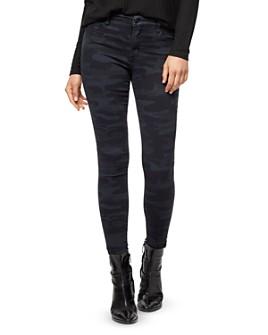 Sanctuary - Social Standard Skinny Ankle Camo-Printed Jeans in Prosperity