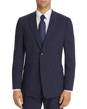 Theory - Chambers Longford Tonal Glen Plaid Slim Fit Suit Jacket