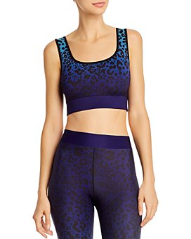 COR designed by Ultracor - Ombré Leopard-Print Sports Bra