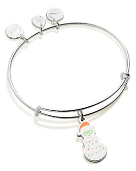 Alex and Ani - Holiday Snowman Color Infusion Expandable Charm Bracelet