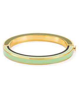 Tory Burch - Multicolored Enamel Hinge Bracelet