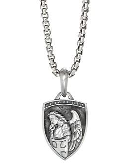 David Yurman - Sterling Silver St. Michael Amulet