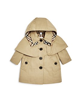 Burberry - Girls' Bethel Hooded Trench Coat - Baby