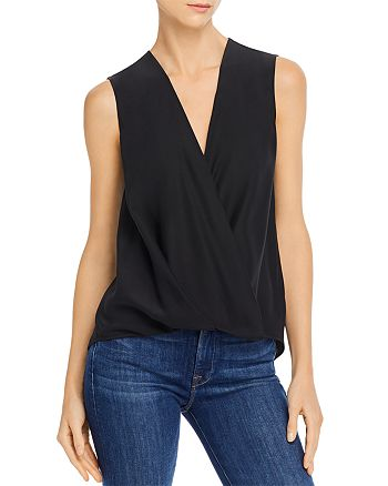 rag & bone - Victor Faux-Wrap Top